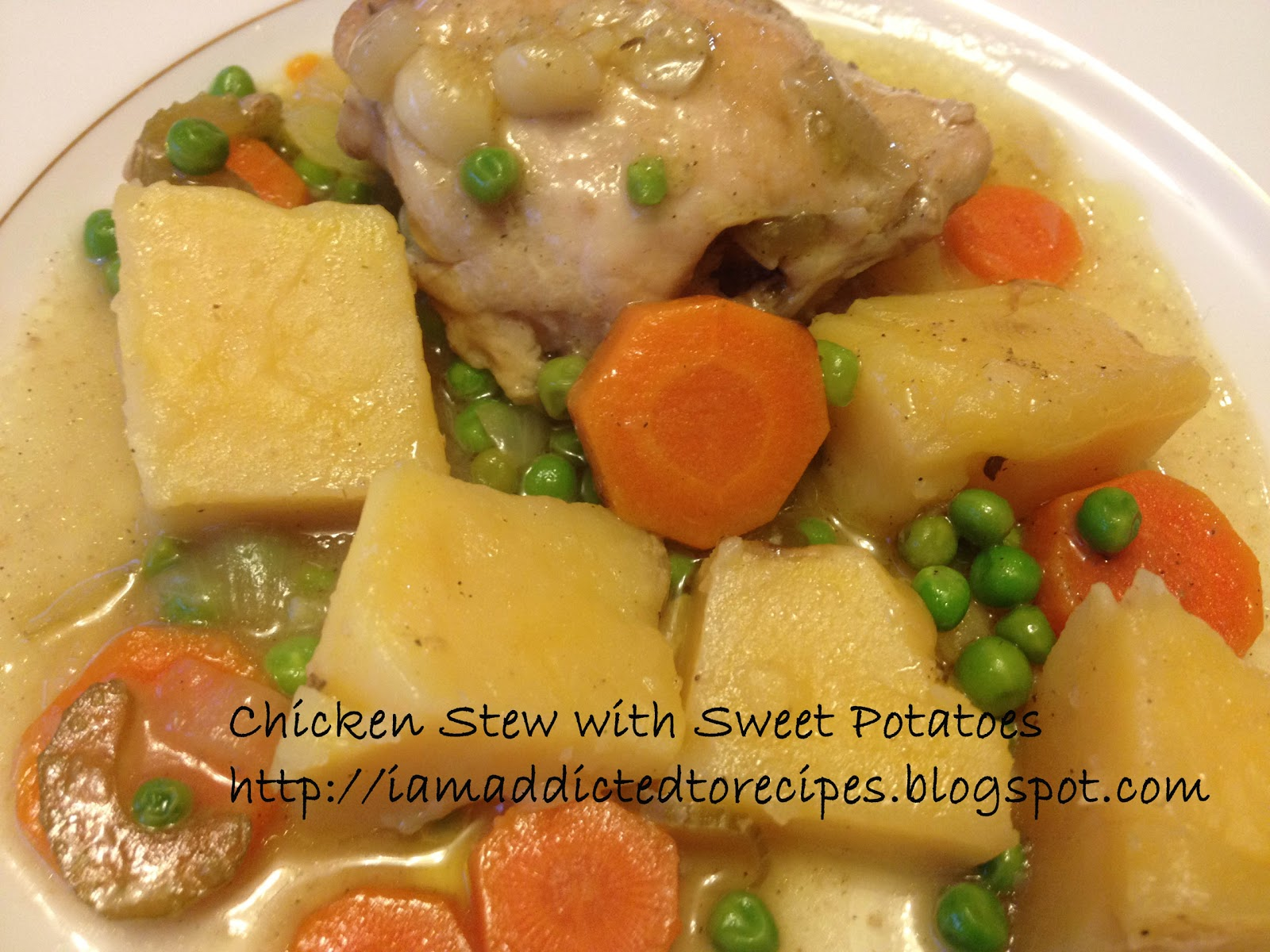 ... to Recipes: Chicken Stew with Sweet Potatoes - Slow Cooker Thursday