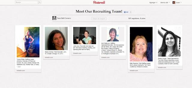 Pinterest como herramienta de reclutamiento de personal Juan Carlos Barcelo