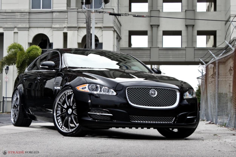 2011 jaguar xjl strasse forged modify gambar foto modifikasi mobil sport. Black Bedroom Furniture Sets. Home Design Ideas