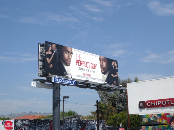 Perfect Guy movie billboard