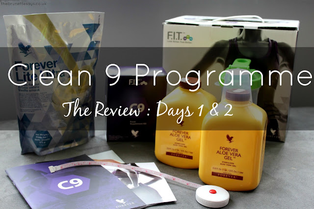 Clean 9, C9, Forever Living, Aloe Vera, review