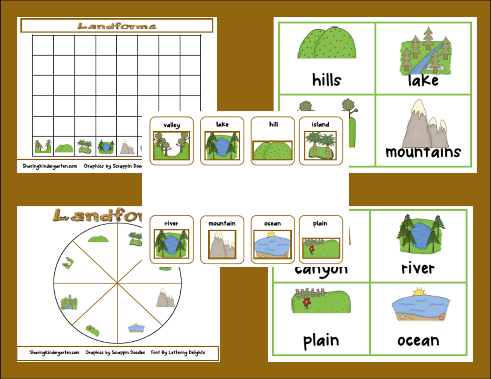 Understanding Landforms Worksheets Also 2nd Grade Landforms Lessons ...
