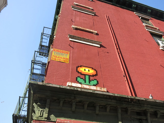 Invader Invades New York City - 2013 Edition - Collaboration With COST and ENX plus solo pieces. 6