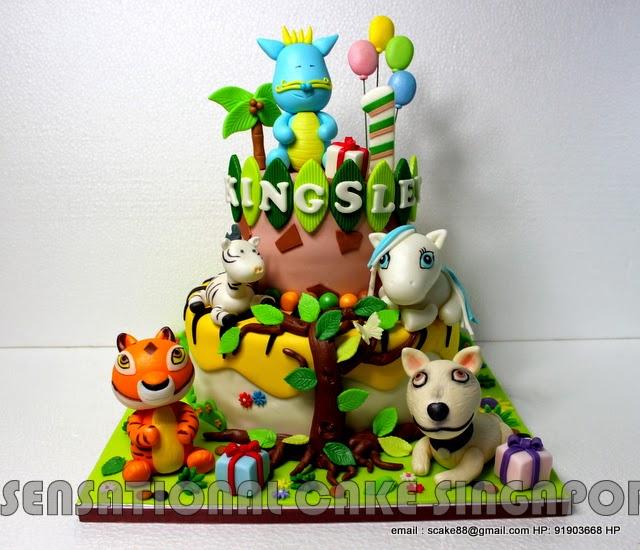 The Sensational Cakes: TIGGER MUM # TIGA #DOGGY DAD # MY