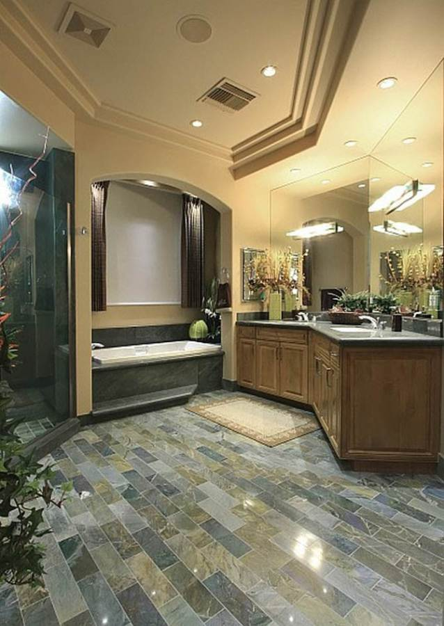 Innovative Bathroom Floor Plan Nicolas Cages Former House