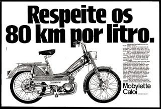 propaganda Mobylette Caloi - 1977; Caloi; bike; brazilian cars in the 70's;  propaganda anos 70. propaganda carros anos 70. reclame anos 70. Oswaldo Hernandez;