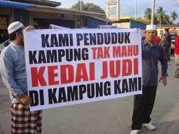 Mesin Judi Haram Virus Kepada Masyarakat Melayu