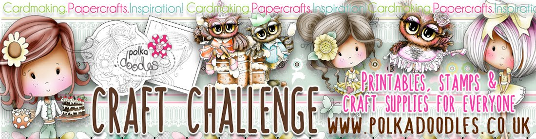 Polkadoodles Crafting Challenge