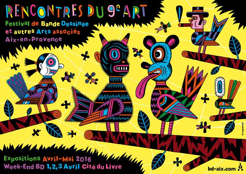 Festival de la BD d'Aix 2016