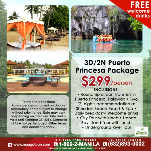 Mango Tours Palawan Puerto Princesa Promo Tour Package Philippines