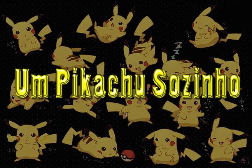 Um Pikachu Sozinho