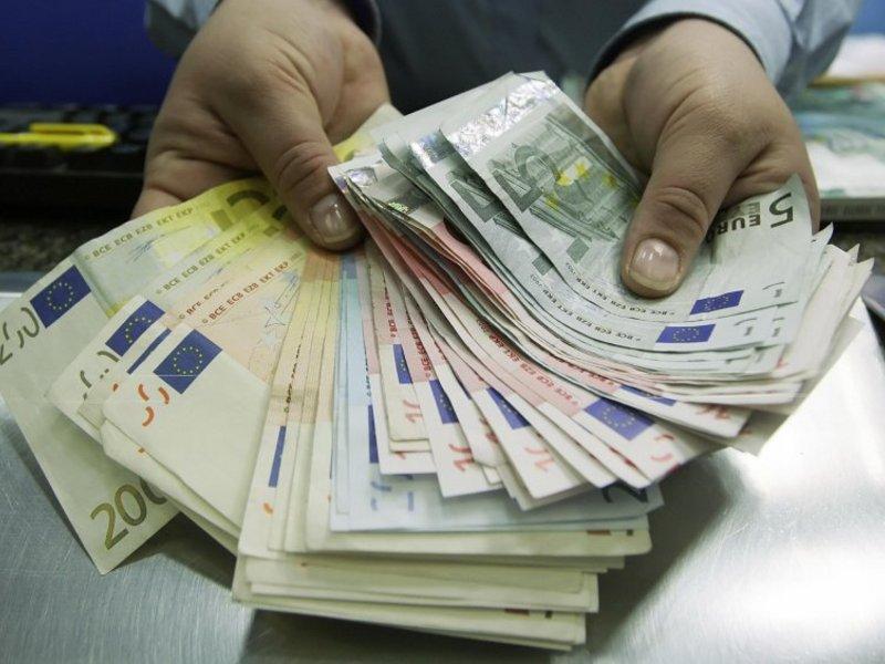 Sacudido por dinero en efectivo