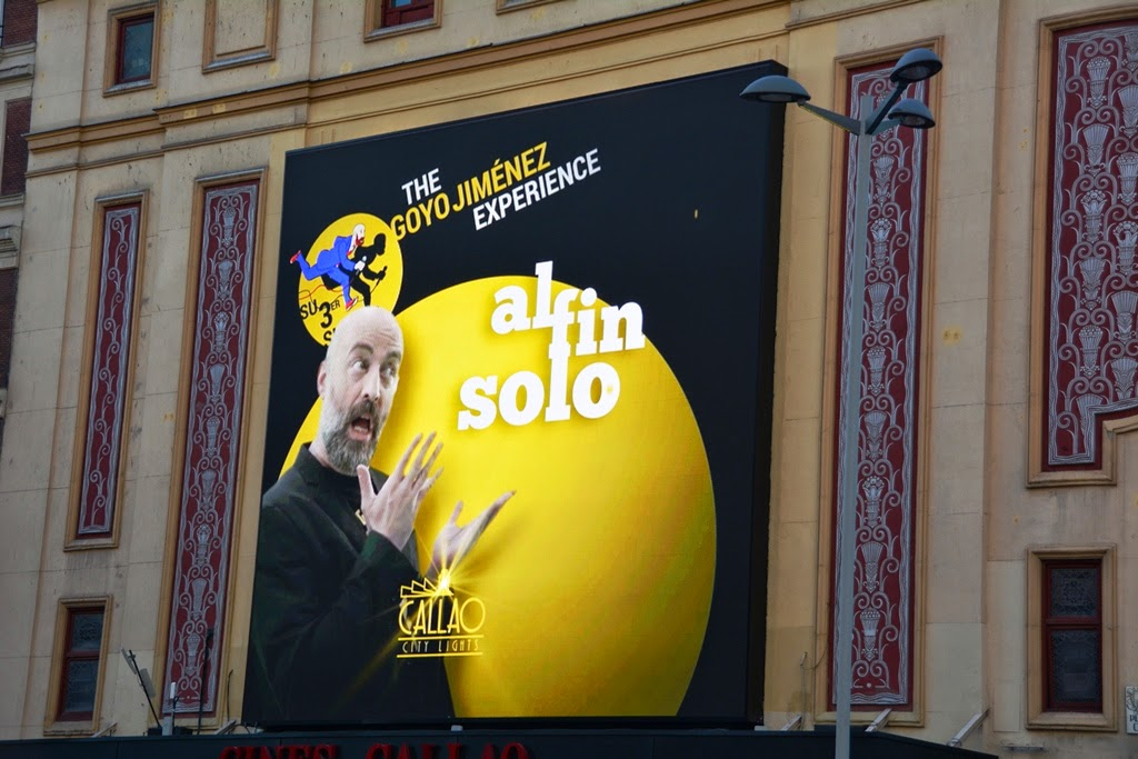 Plaza del Callao Madrid Billboard