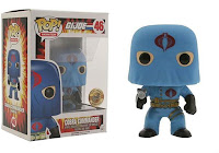 Funko Pop! HOODED COBRA COMMANDER (BLUE)