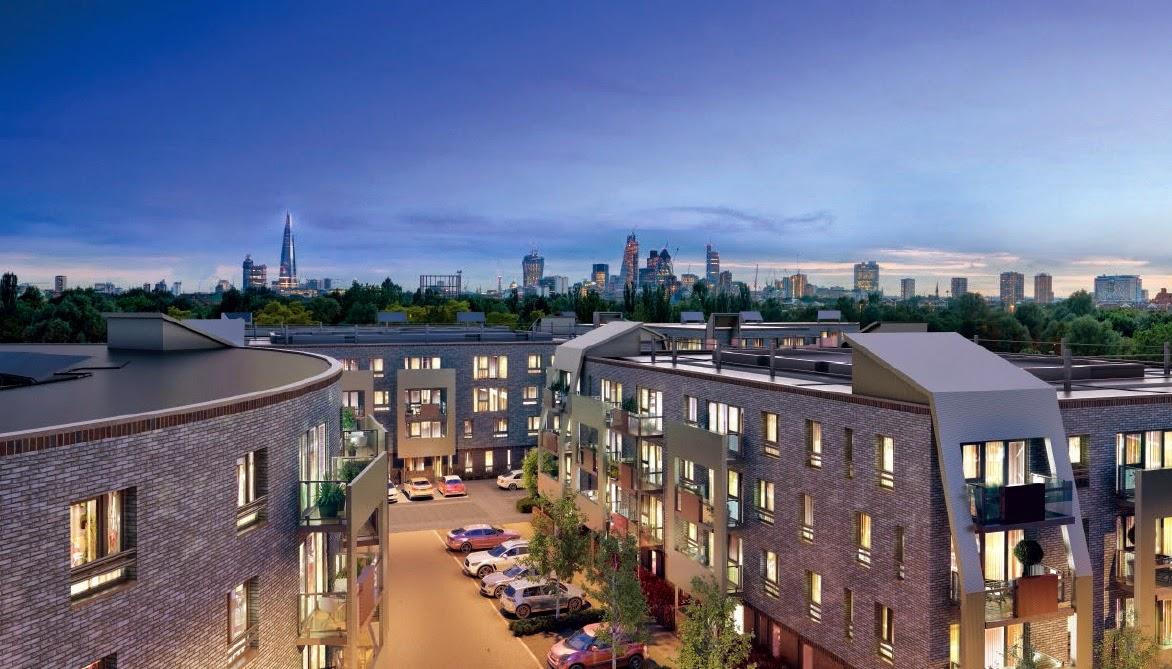 倫敦房地產包租方案-紅杉塢景封面