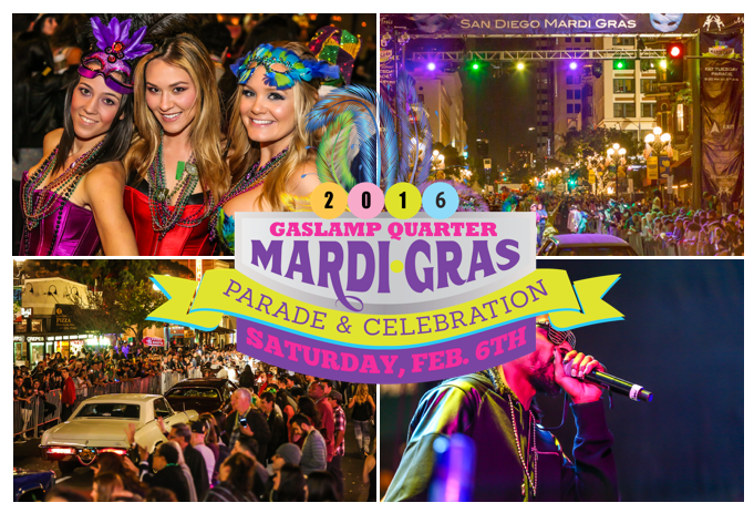 Save On Passes & Enter To Win VIP Tickets To Mardi Gras In The Gaslamp