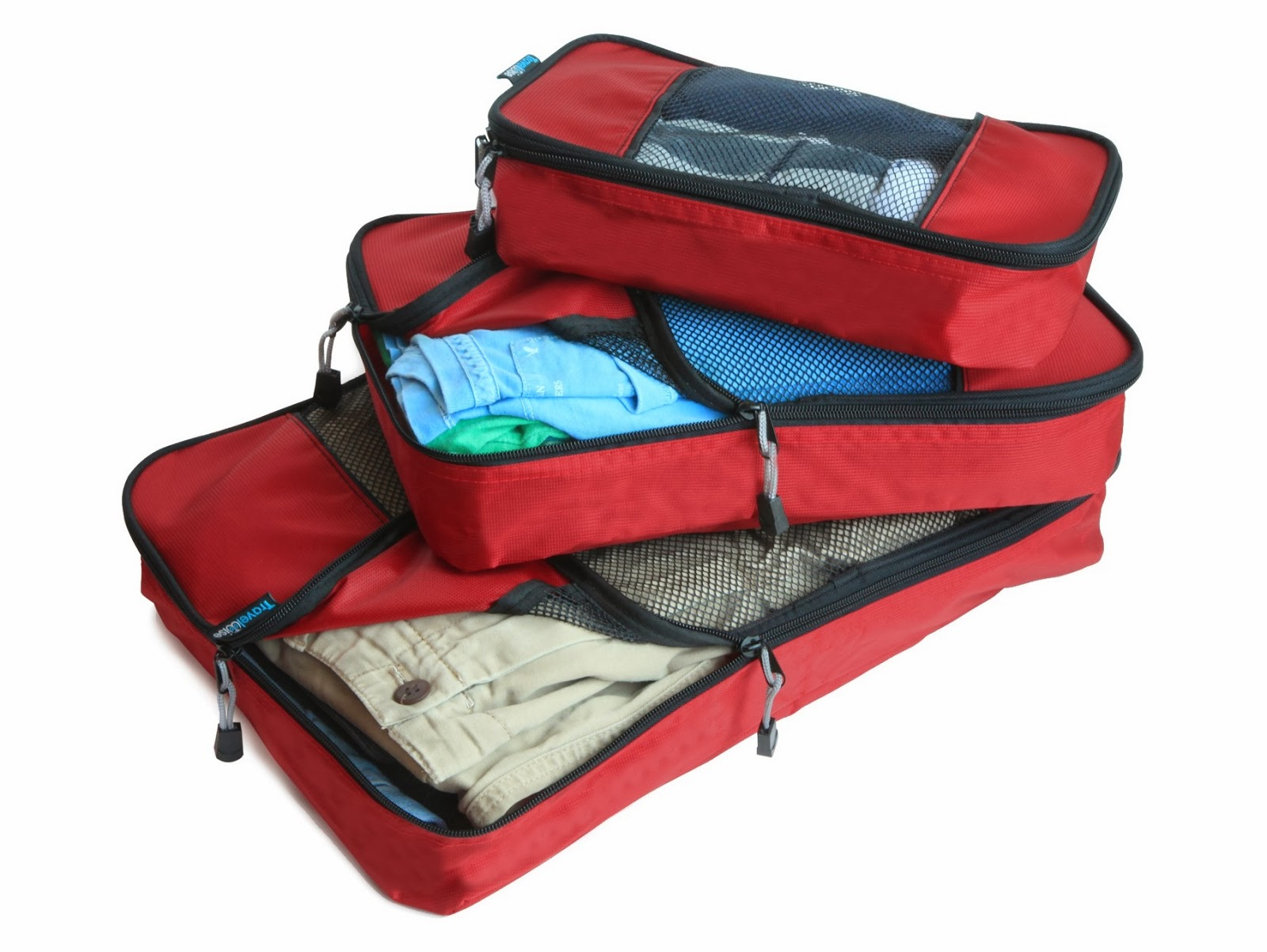 EatSmart TravelWise Packing Cubes