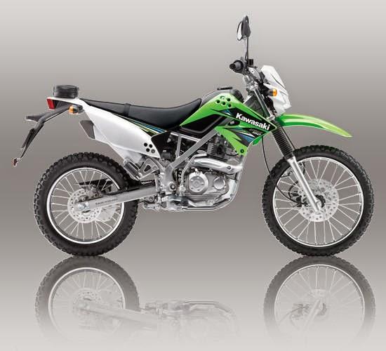 Kawasaki KLX 150S Hijau