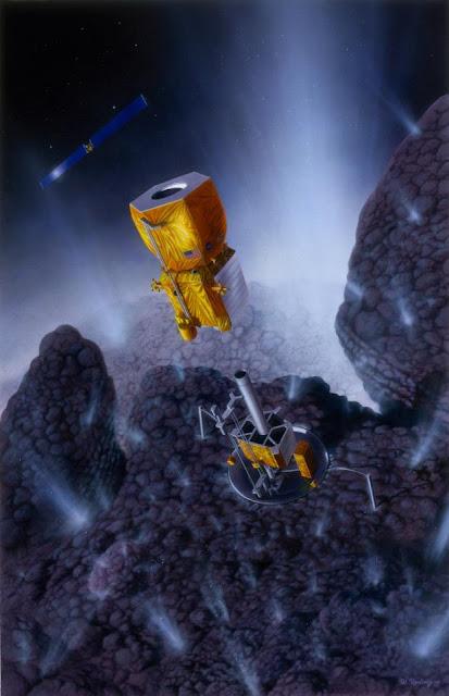 asteroid mining machinery - 413×640