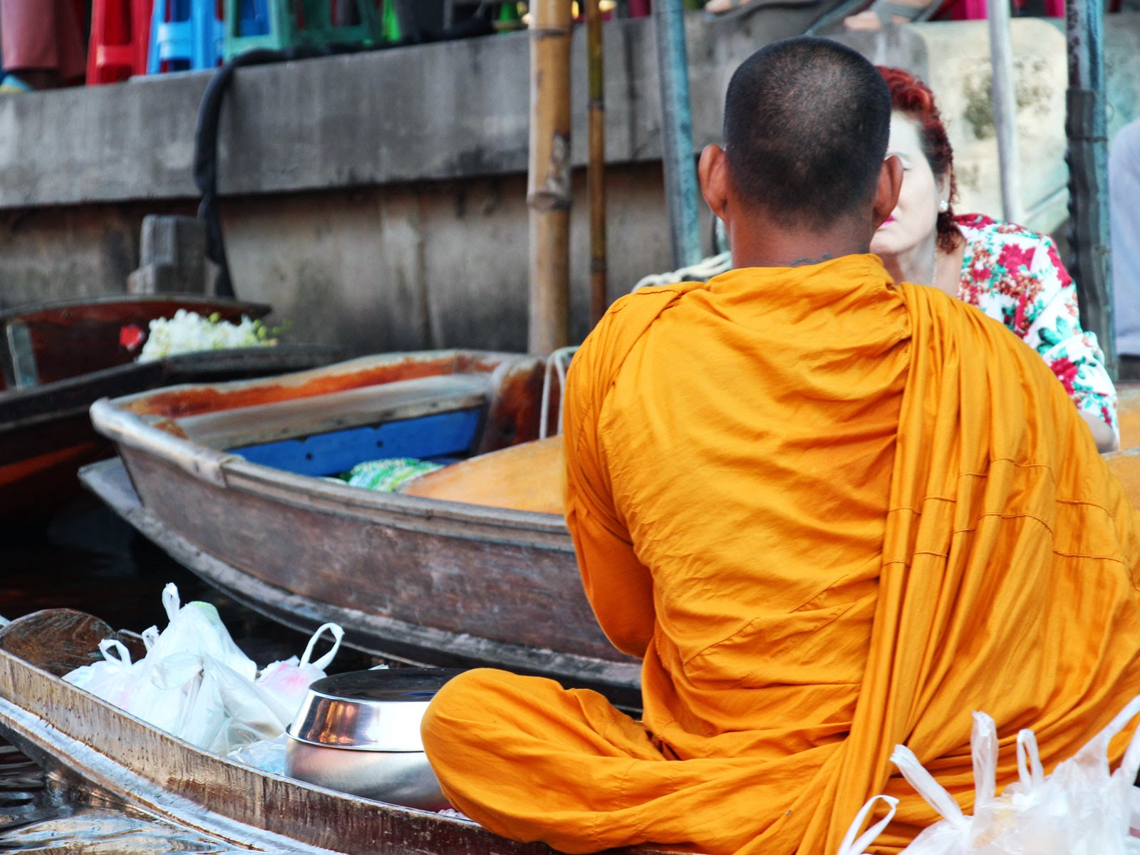 bonze thaïlande