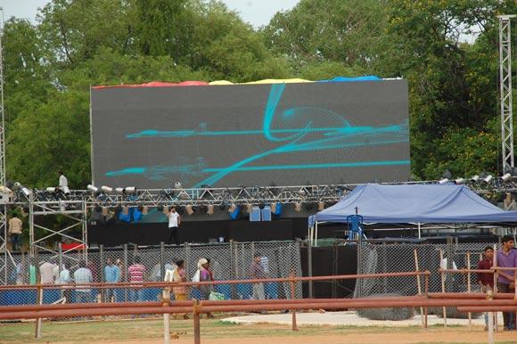 Live Streaming of Bahuballi Audio Launch Sri Venkateswara University (SVU), Tirupathi