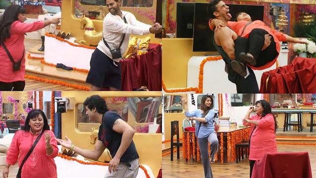 Bharti Singh making contestants having fun