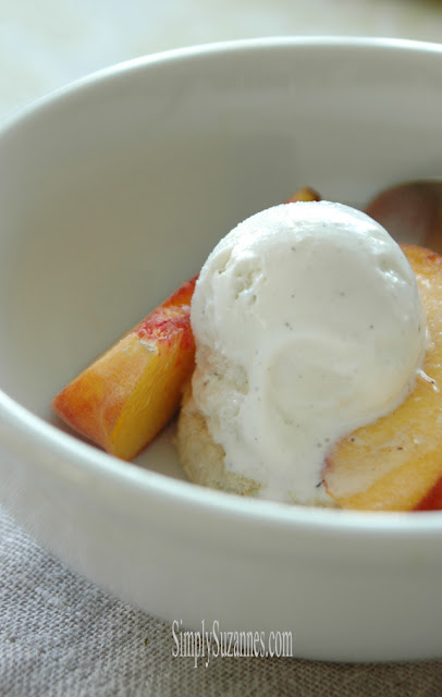 Simply Suzanne's Peaches and Cream Shortbread Cookie