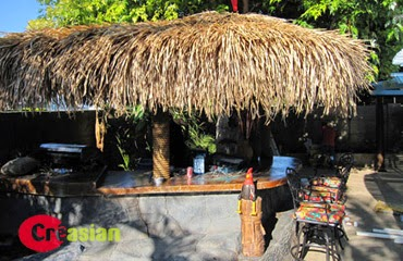 Backyard Island Tropical Umbrellas Palapa Umbrella,bar/hut Plans,roofs Buy  Tiki Thatch/thatching/thatched Roofing Palapa Patio Umbrella|Custom  Made 12ft ...