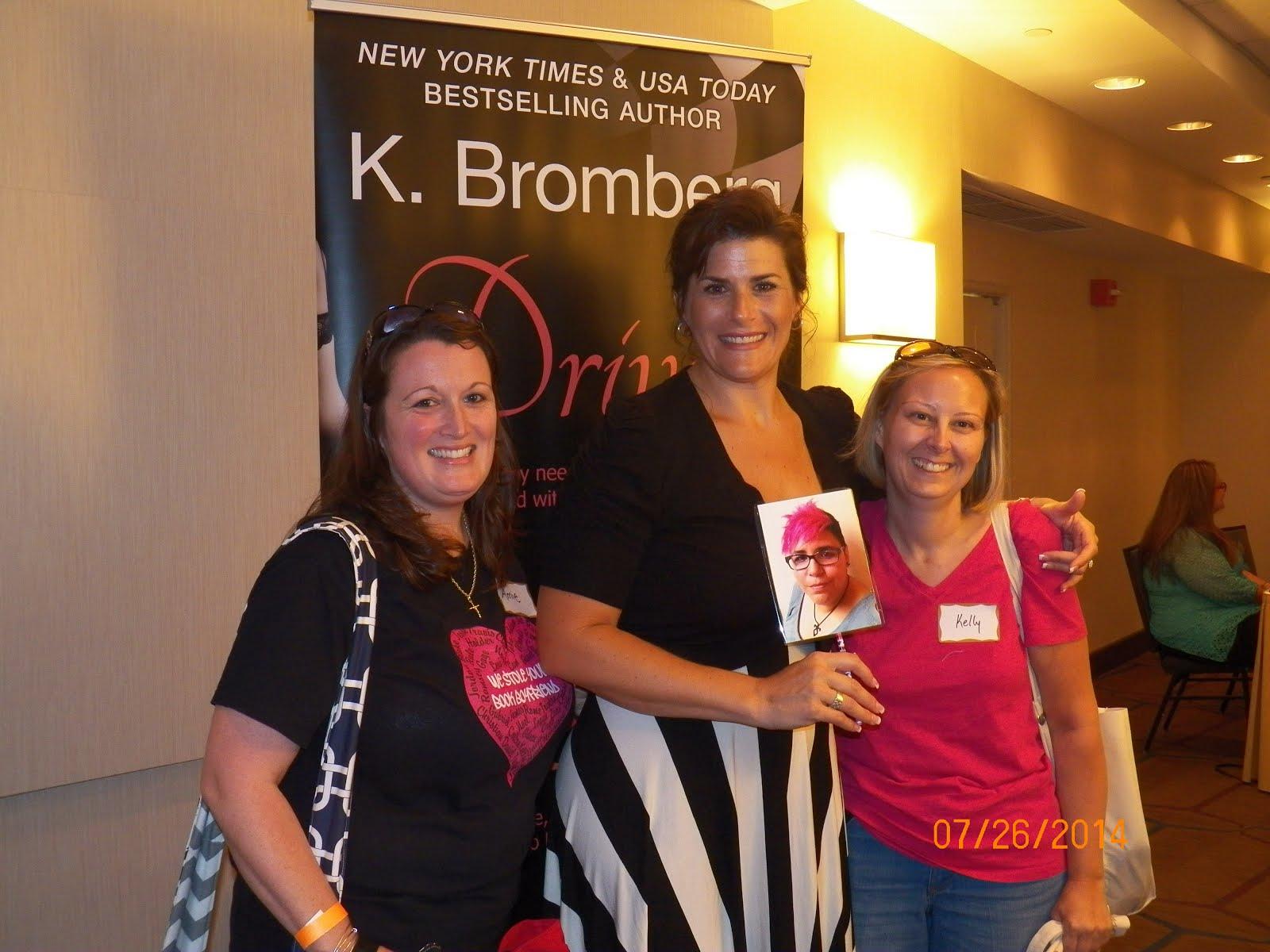 NY Signing - K. Bromberg