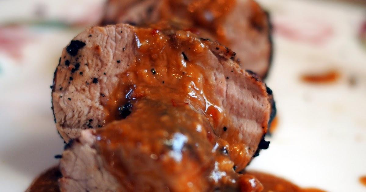 The Dinner Club: Grilled Asian Pork Tenderloin with Peanut ...