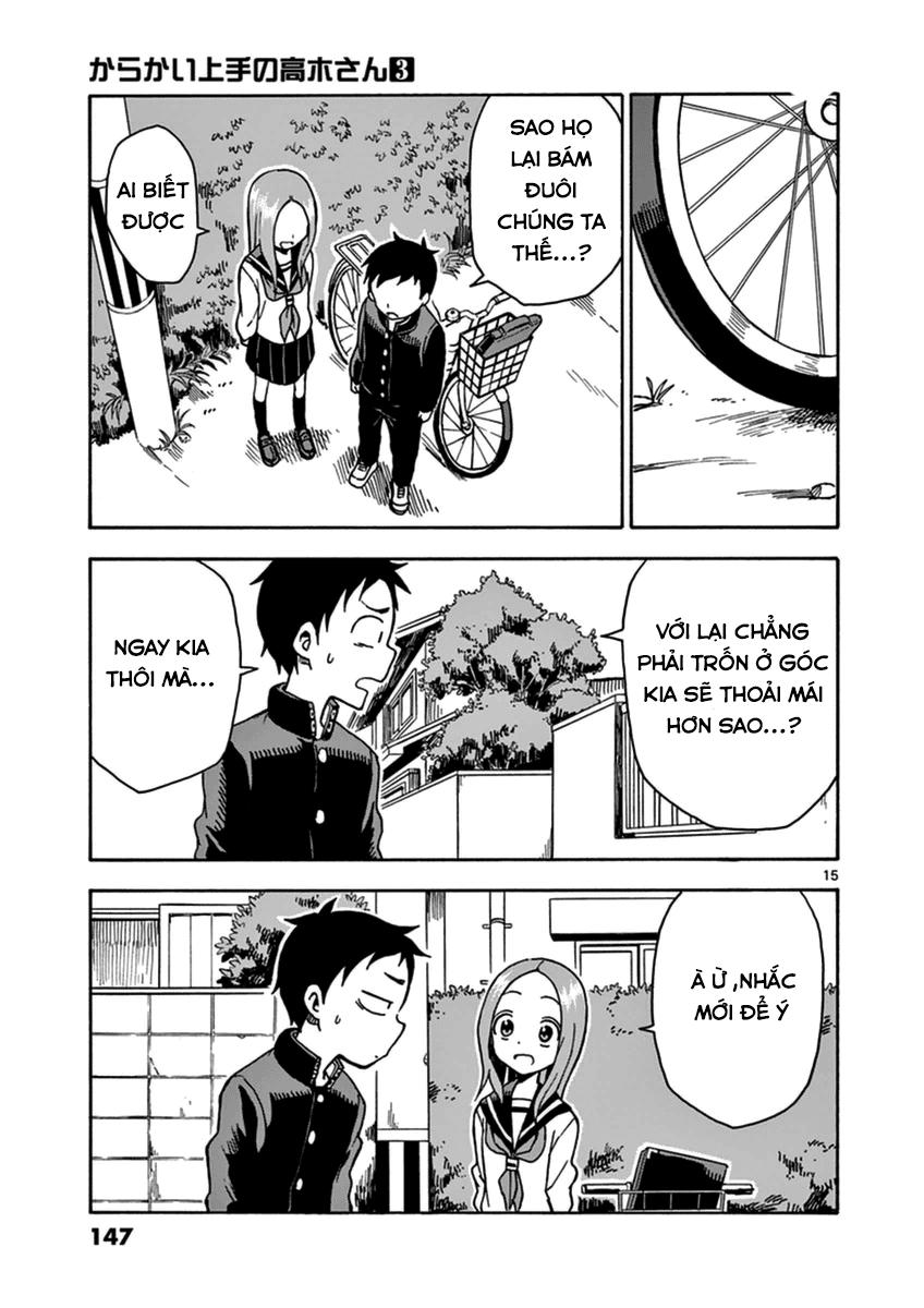 Karakai Jouzu no Takagi-san chap 26 Trang 15 - Mangak.info