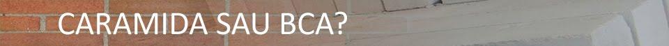 Caramida sau BCA?