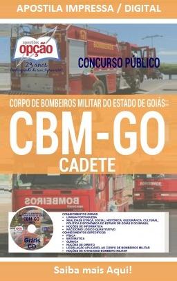 Apostila CBM-GOIÁS Cadete e Soldado Bombeiros Militar-GO
