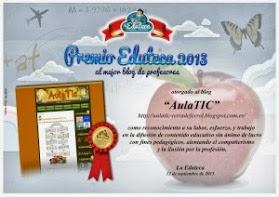 PREMIOS EDUTECA 2013