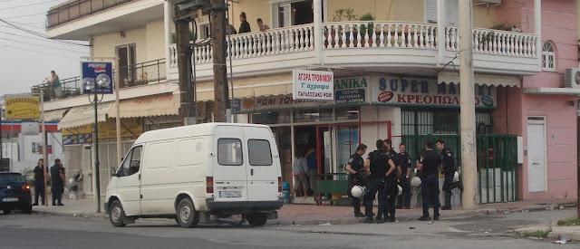"""Επικοινωνιακή απάτη του Δένδια η """"επιχείρηση"""" στο Ζεφύρι"""