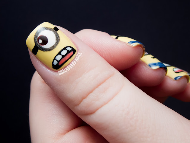 Minions - Decoracion de uñas - Diseño de uñas
