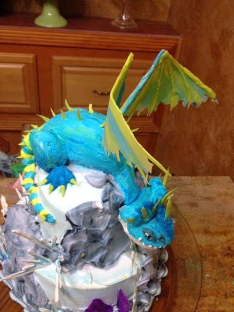 Frosted Art How To Train Your Dragon Cake Photos And Video
