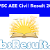 TSPSC AEE Civil Result 2015 Download Cutoff Merit List