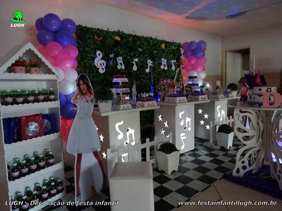 decoracao festa violeta:Festa tema Violetta, decoração de aniversário infantil – Festa