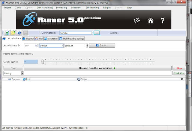 Xrumer 7.7.35 nulled дешевый игровой хостинг кс 1.6