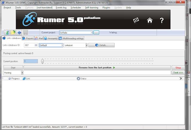 Xrumer nulled download размещение статей в Астрахань