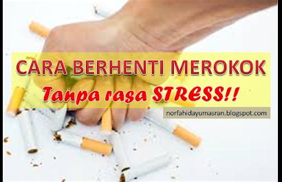 Berhenti Merokok Dengan Mudah, Jom!!