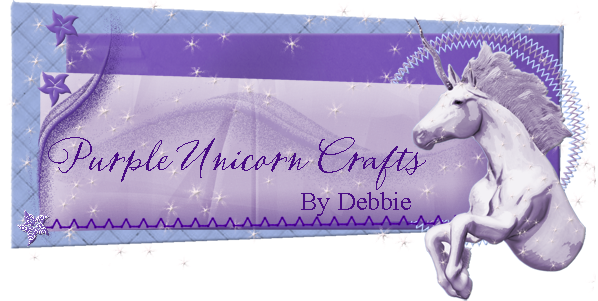 Purple Unicorn Crafts By Debbie