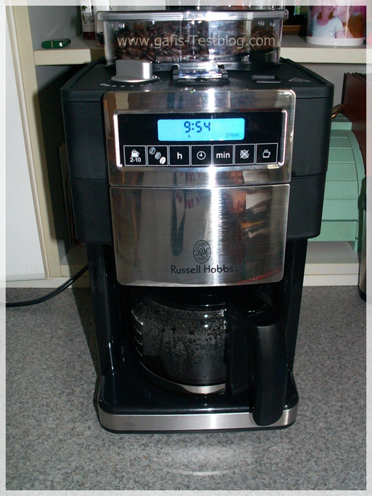 Russel Hobbs- Kaffeemaschine- Platinum Collection - Mill & Brew