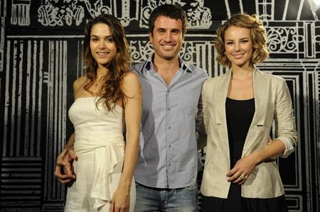 Fernanda Machado, Eriberto Leão & Paola Oliveira