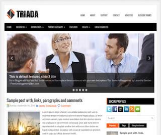 Triada-Blogger-Template