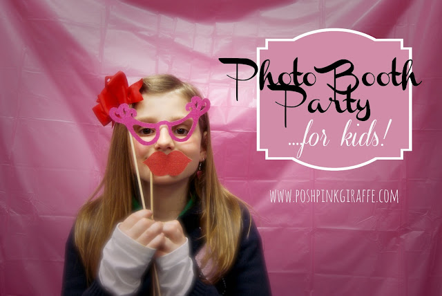 Photo Booth Party by Posh Pink Giraffe