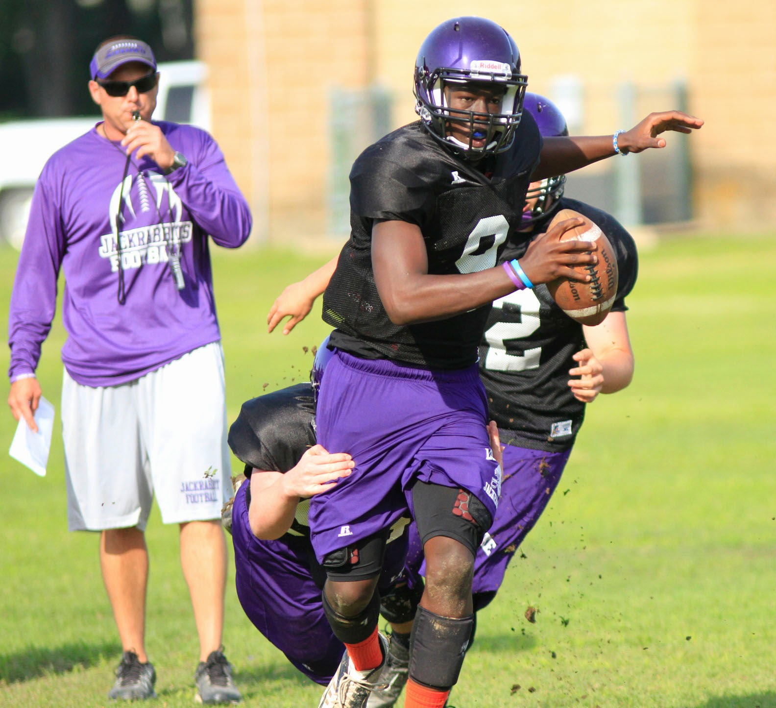 Lonoke County Sports Report: Lonoke football practice