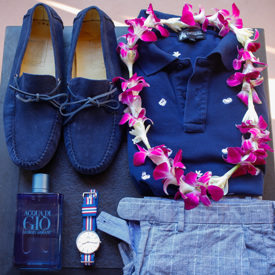 Levitate Style | Hawaii - Classic Polo, Summer Shorts, Daniel Wellington, Acqua di Gio