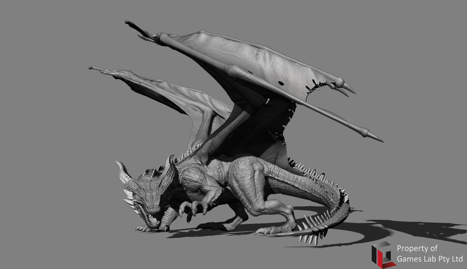 Fire Dragon_Zbrush and the wireframe | Mary Jane's 3D Characters Art ...: mjsworkspace.blogspot.com/2013/07/fire-dragonzbrush-and-wireframe...